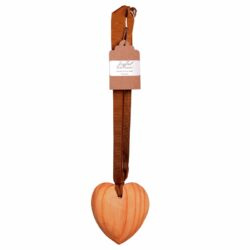 Elmi-Jali scented wooden heart on ribbon 10cm