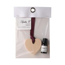 Sophia-E-wooden-heart-11ml-fragrance-oil-wardrobe-freshener