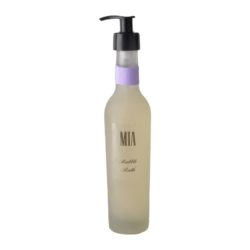 Deluxe jojoba enriched bubble bath frosterd glass 250ml