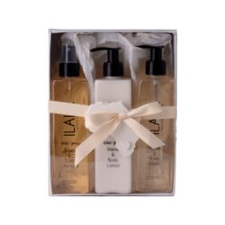 Ilala gift - hand and body wash - hand and body lotion - room and linen spray 300ml