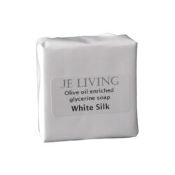 JE Living glycerine soap olive oil enriched wrapped 90g