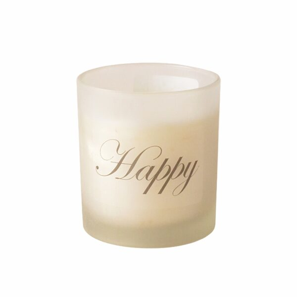 Aroma glass candle in a gift box with - NOVELTY SIGNS