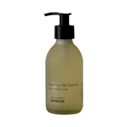 between-the-leaves-and-and-body-wash-glass-bottle-200ml-OUTDOOR